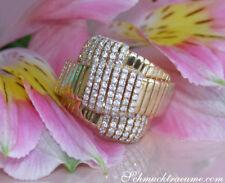 Extravagant: Opulenter Brillant Ring in Gelbgold 750, 1.18 ct. W SI ab 5500€