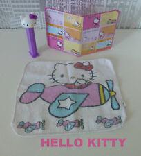 ♥♥♥ Hello Kitty Set: 1 PEZ Spender, 1 Geldbörse / Etui u. 1 Waschlappen ♥♥♥