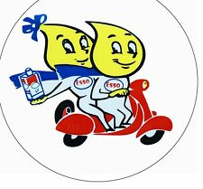 LAMBRETTA Vespa Esso Scooter People Retro Oil Sticker GP,TV,LI,SX,GT. 200
