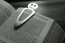 SMILEY Emoji Bookmark Page Bookworm PaperClip Reading Paperback Hardback Book
