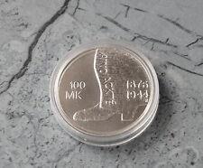* Finnland 100 Markkaa 2001 st , Ag.  * 125. Geb. von Aino Ackte