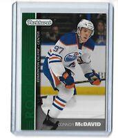 Connor Mcdavid Edmonton Oilers 2015-16 Parkhurst hockey green PR-1