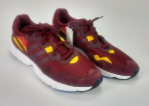 Adidas DB2602 Yung-96 Mens Size 14 Burgundy Red Athletic Sneakers Shoes