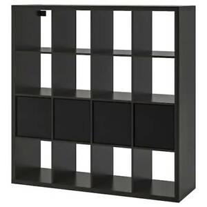 IKEA BLACK KALLAX bookshelf