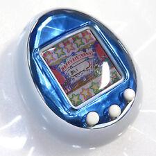 Rare Used Tamagotchi iD Blue Silver White Button Bandai Japan 2010