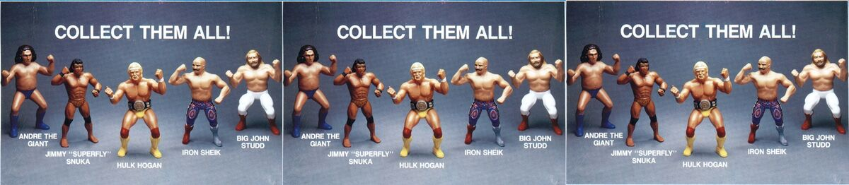 Jays WWF Wrestling Action Figures