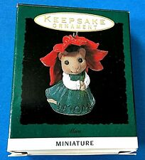 "Hallmark ""Mom"" Miniature ornament 1993"