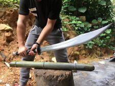 Handmade Chinese Broadsword Sword Dao High Carbon Steel Sharp Blade Full Tang