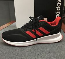 Adidas * RunFalcon Red and Black Running Shoes for Men COD PayPal