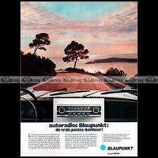 ★ Autoradio BLAUPUNKT 1971 ★ Pub AUTO Publicité Vintage Car radio Advert #A206