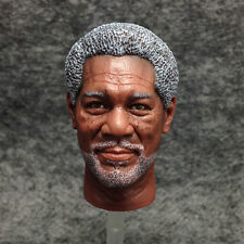 1/6 scale Toy Head Sculpt BELET Morgan Freeman Batman Dark Knight figure#US