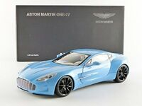 AUTOart 70240 70241 70244 ASTON MARTIN ONE 77 model cars blue/ black/ white 1:18