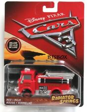 Disney Pixar Cars 3 Radiator Springs Deluxe RED Fire Engine Truck Rare New