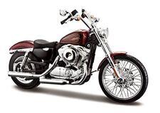 Véhicules miniatures noir Maisto Harley-Davidson
