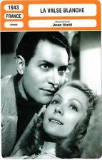 FICHE CINEMA : LA VALSE BLANCHE - Delamare,Alerme,Stelli 1943