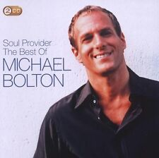 """MICHAEL BOLTON """"THE SOUL PROVIDER: THE BEST OF"""" 2 CD"""