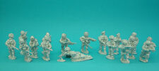 28mm WW2 British Airborne paratroops,unpainted ,historical, 1st Corps