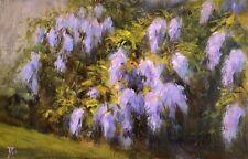 Original acrylic painting by Awards Winning Australian Artist - Wisteria