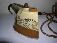 Vintage Sunbeam Shot of Steam Today Iron w/Variable Control