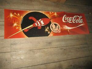 Tintin&Moulinsart&Coca Cola-Collector introuvable+ d 1 mètre-Spécial 75 ans LUNE