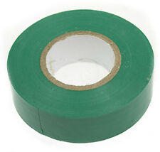 GREEN ELECTRICAL PVC INSULATION / INSULATING TAPE 16mmx16m FLAME RETARDANT