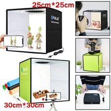 30cm/25cm LED Light Box Photography Photo Studio Portable Tent Lighting Cube Kit