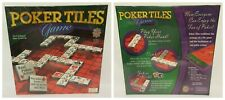 New Factory Sealed MASTERPIECES Poker Tiles Game