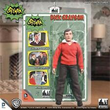 "DC BATMAN TV SERIES DICK GRAYSON ROBIN BURT WARD retro mego figure 8"""