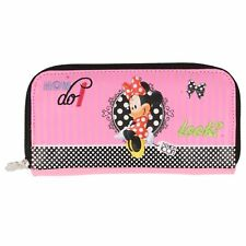 "Delightful Minnie Mouse Pink Purse - ""How do I look"" design - NEW"