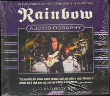 RAINBOW Audiobiography NEW SEALED BOOKLET & CD  Rictchie Blackmore Deep Purple