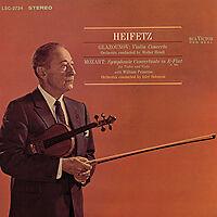 LIving Stereo LSC2734 Heifetz Glazounov Mozart 45rpm