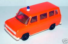 Micro Herpa Ho 1/87 Ford Transit Neon Pink Firefighters B