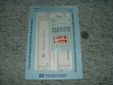 Microscale decals N 60-0295 Trailerail Service BO Vans K Line containers  C79