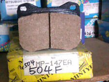 PEUGEOT 504 - FRONT DISC BRAKE PAD - MINTYE MP147EA