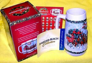 """Budweiser 2009 """"A Holiday Tradition"""" #CS699 Anheuser-Busch By Brax of China"""