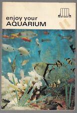 "[33982] 1967 ""ENJOY YOUR AQUARIUM"" by SYLVAN COHEN BOOKLET"