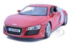 AUDI R8 RED 1:18 DIECAST MODEL CAR BY MAISTO 36143