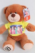 1D 1 Direction Teddy Bear in Yellow Hoodie Plush Toy Doll NEW NWT