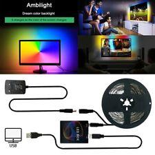 DIY Ambilight RGB WS2812B led strip Computer PC TV Dreem Screen Backlight 60LEDs