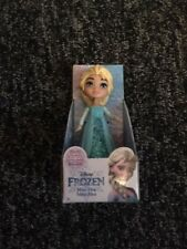 "Disney Frozen Mini Toddler Doll 3"" Figure mini elsa Dress Cake Topper RARE"