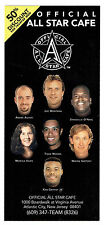 1997  All-Star Cafe Ad Card, Wayne Gretzky, Tiger Woods,  etc.