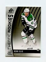 17/18 SP GAME-USED SPGU ROOKIE RC #148 REMI ELIE 40/40 STARS JERSEY NUMBER