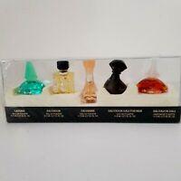 Salvador Dali Vintage Set Miniature bottles Laguna Salvador EDT Dalissime EDT