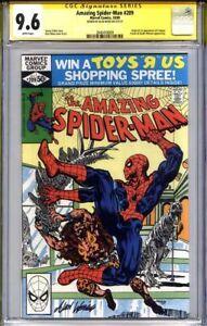 AMAZING SPIDER-MAN #209 CGC 9.6 SS ALAN WEISS (1st Calypso)