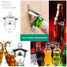 Bronze Metal Beer Wine Bottle Cap Opener Fixed Wall-mounted Club Bars Supplies