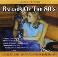 Ballads of the 80's Alphaville, Richard Sanderson, FgtH, Cyndi Lauper, Co.. [CD]