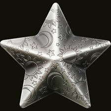 2018 Palau 1 Ounce Silver Charms Twinkling Star Antique Finish .999 Silver Coin