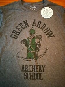 Green Arrow shirt Jack of All Trades brand DC Comics size large
