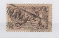 GB KGV 1918 2s 6d Seahorse Bradbury SG413a VFU JK1311