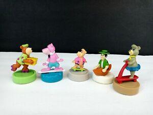 "Wendy's Toys ""Yogi Bear"" Gliders Lot of 5 1990 Hanna-Barbera Boo Boo Loose"